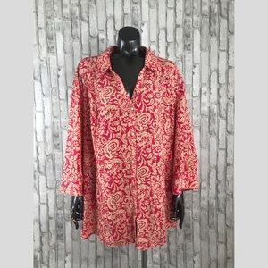 Maggie Barnes for Catherine's Plus Size 3X Blouse